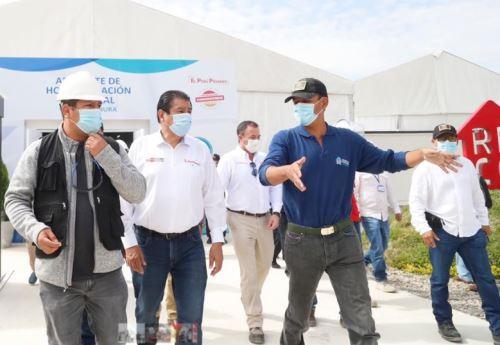 El ministro de Vivienda, Construcción y Saneamiento (MVCS), Rodolfo Yáñez Wendorff, destacó la importancia del trabajo conjunto entre todos los niveles de gobierno en los avances contra la Covid-19 en la región Piura.