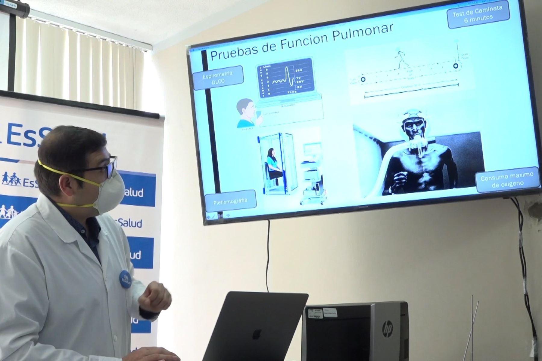 EsSalud implementará plan de control posterior a pacientes covid-19 dados de alta. Foto: ANDINA/Difusión.