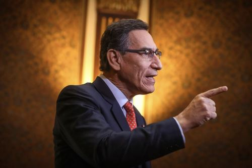 Mensaje a la nación del presidente Martin Vizcarra