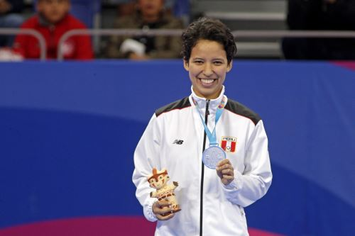 Marcela Castillo ganadora de la medalla de plata en los Juegos Panamericano Lima 2019