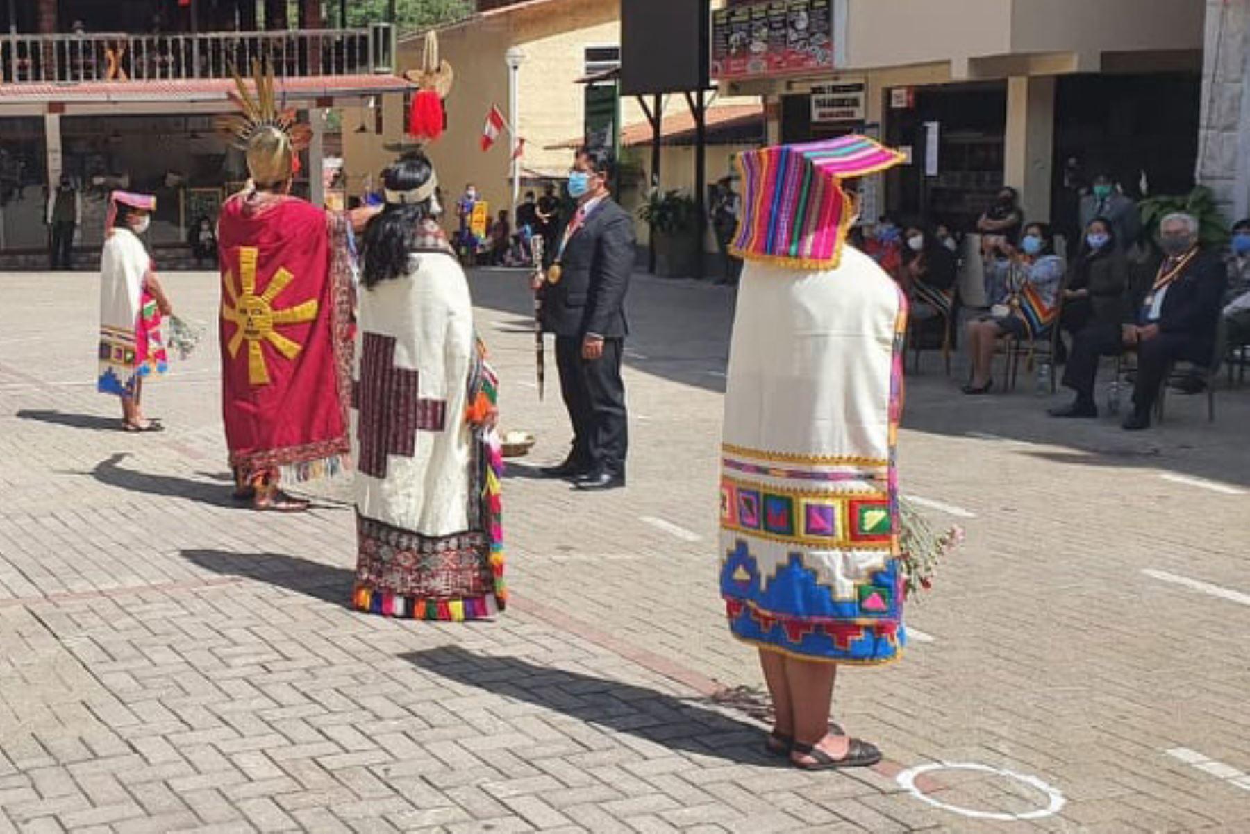 La ciudadela inca de Machu Picchu celebró su decimotercer aniversario como maravilla del mundo moderno. Foto: ANDINA/Difusión