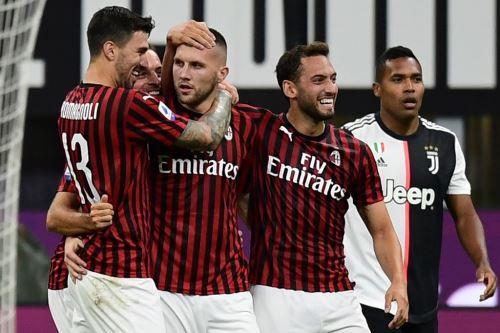 Milan derrota a la Juventus