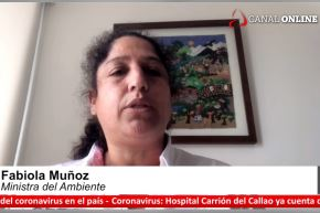 La ministra del Ambiente, Fabiola Muñoz, invitó a la población a leer el Acuerdo de Escazú, que promueve la transparencia en el tema ambiental.