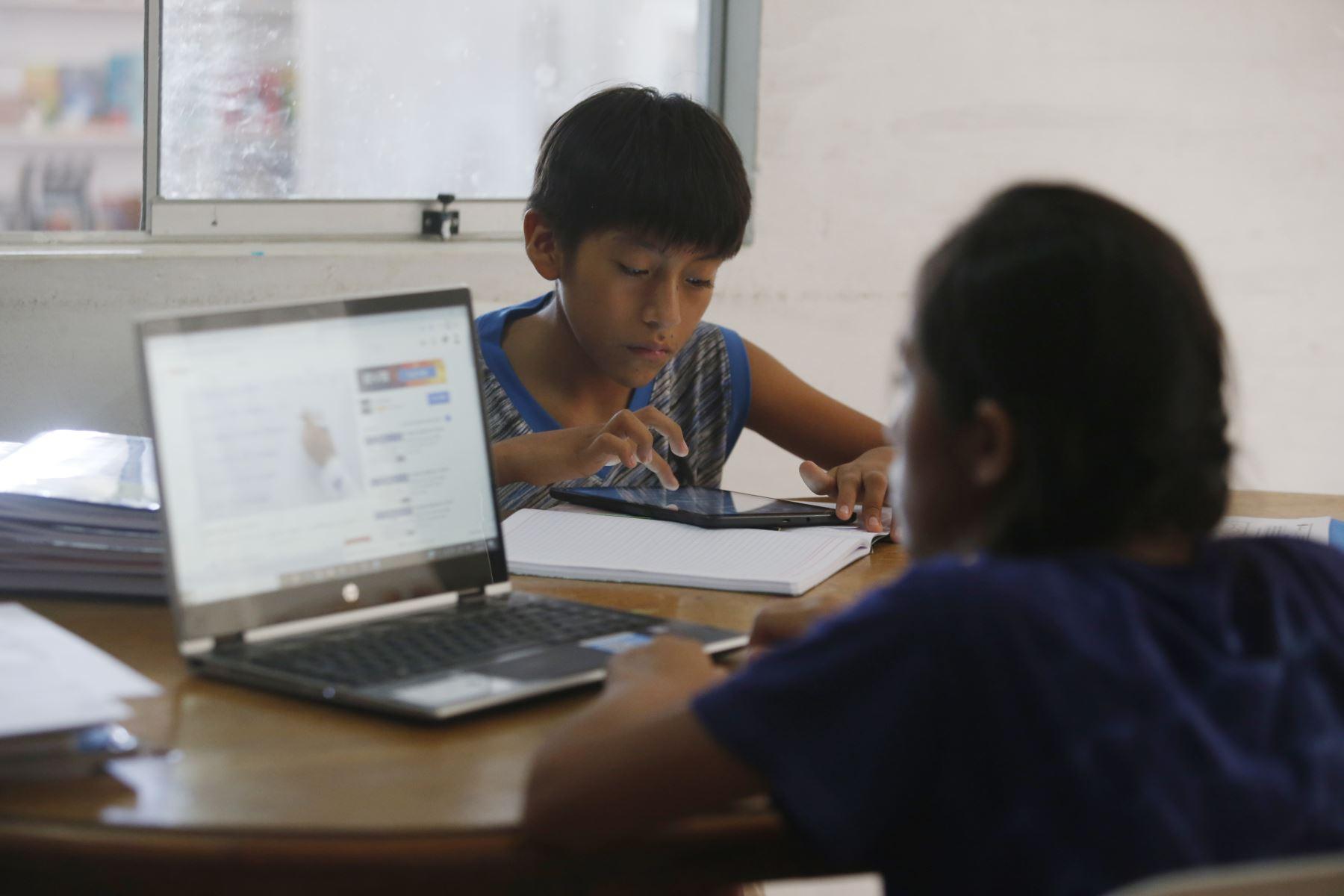 La estrategia se implementará en un eventual retorno a la presencialidad, informó el Ministerio de Educación. Foto: ANDINA/Difusión