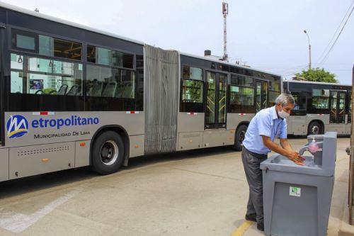 Transfieren S/ 8.3 mllns. para brindar servicio de transporte con salubridad en Lima. Foto: ANDINA/archivo.