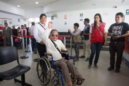De acuerdo a los resultados del Censo Nacional 2017 - INEI, en el Perú existen 3'051,612 personas con discapacidad, cifra que representa el 10,4% del total de la población. ANDINA/MIMP