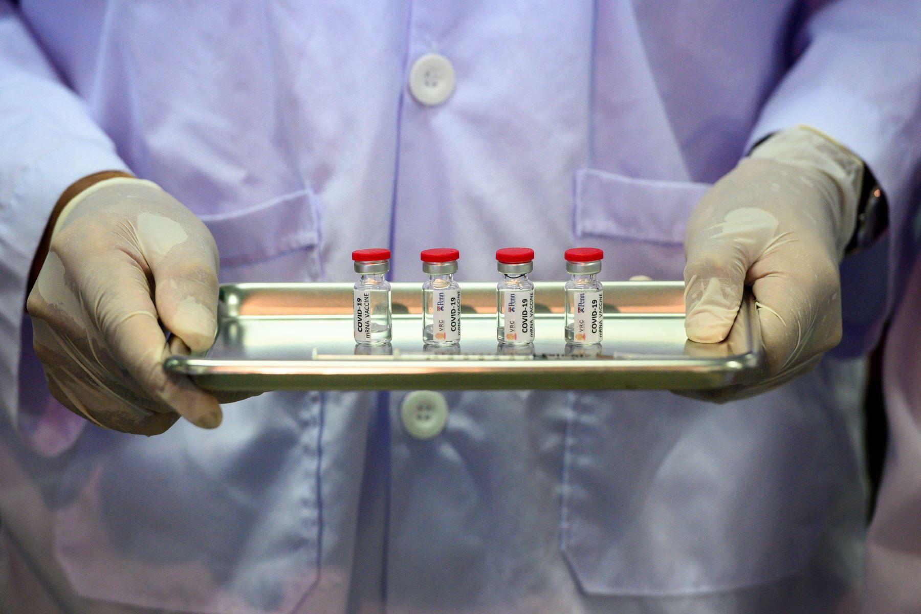 El fármaco neutralizó la variante G614 del SARS-CoV-2 y que fue 10 veces más efectivo en comparación con la variante original del virus, la D614. Foto: AFP