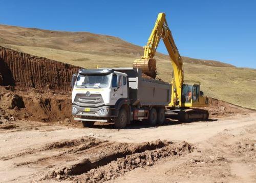 El MTC informó del reinicio d e las obras en la vía alterna a la carretera Central en el tramo Canta-Huayllay.