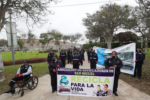 Ministra del Ambiente impulsa la reactivación del reciclaje en San Miguel