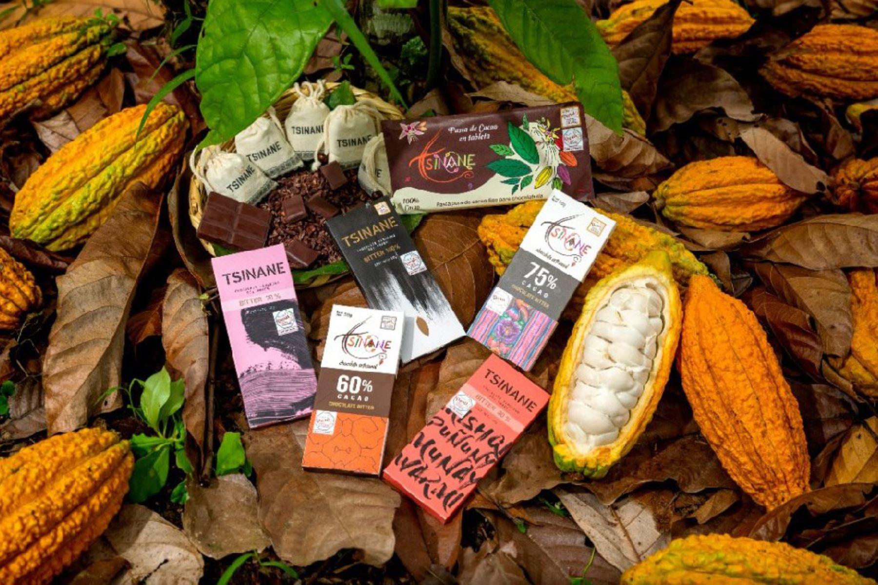 Cacao y chocolates. ANDINA/Difusión