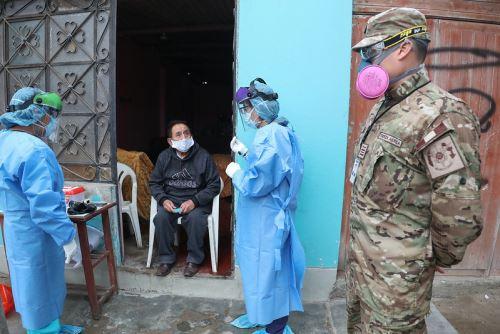 La operación Tayta ha intervenido en las zonas de mayor riesgo de contagio del covid-19 en Lima y regiones. Foto: ANDINA/Difusión