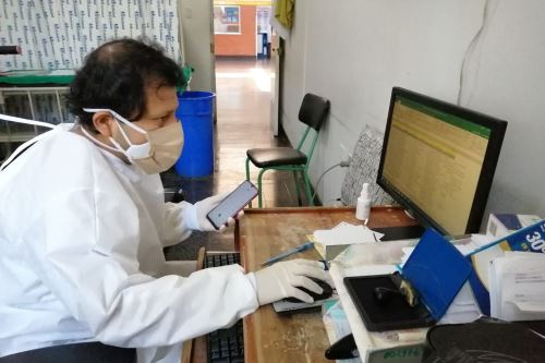 Atención por teleconsulta asegura el monitoreo oportuno de la salud de los asegurados en la región Áncash.