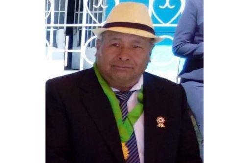 El alcalde de Paca (Junín), Owen Poves, murió por covid-19. Foto: ANDINA/Difusión