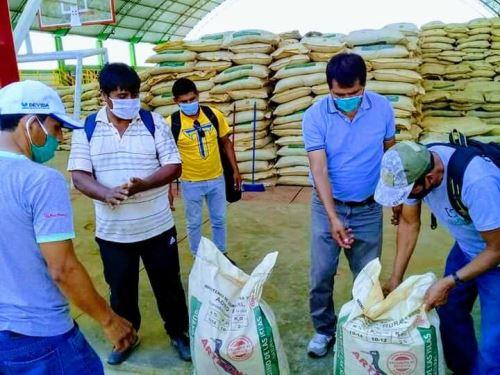 Con entrega de abono buscan dar un nuevo impulso a los productores cafetaleros del distrito de Pangoa, en el ámbito del Vraem, y reactivar la economía local.