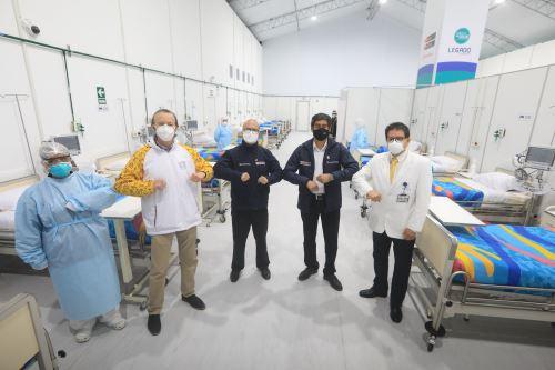 Coronavirus: Instalación de Centro de Atención Temporal en Puente Piedra
