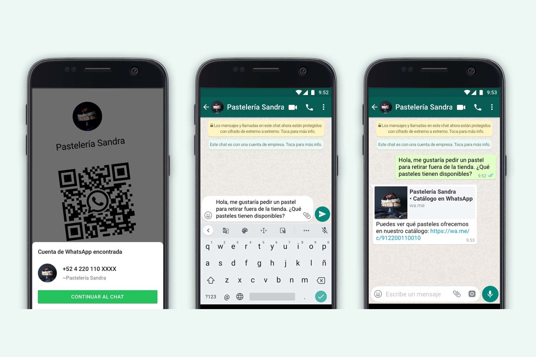Ahora, para iniciar un chat, los usuarios pueden simplemente escanear el código QR que las empresas coloquen en sus tiendas, empaques de productos o recibos de compra.
