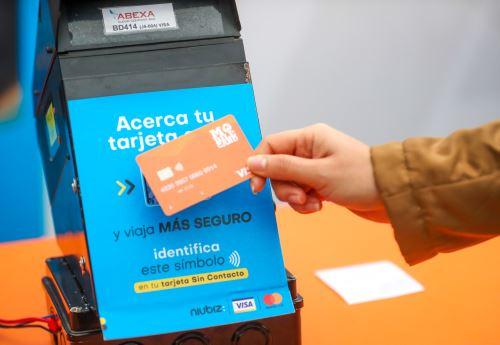 Coronavirus: ATU impulsa la implementación del pago sin contacto en el transporte público