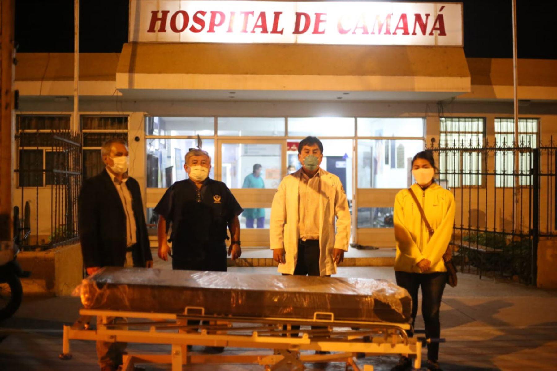 El Hospital de Camaná, en Arequipa, ahora cuenta con 25 camas de hospitalización para pacientes covid-19. Foto: ANDINA/Difusión