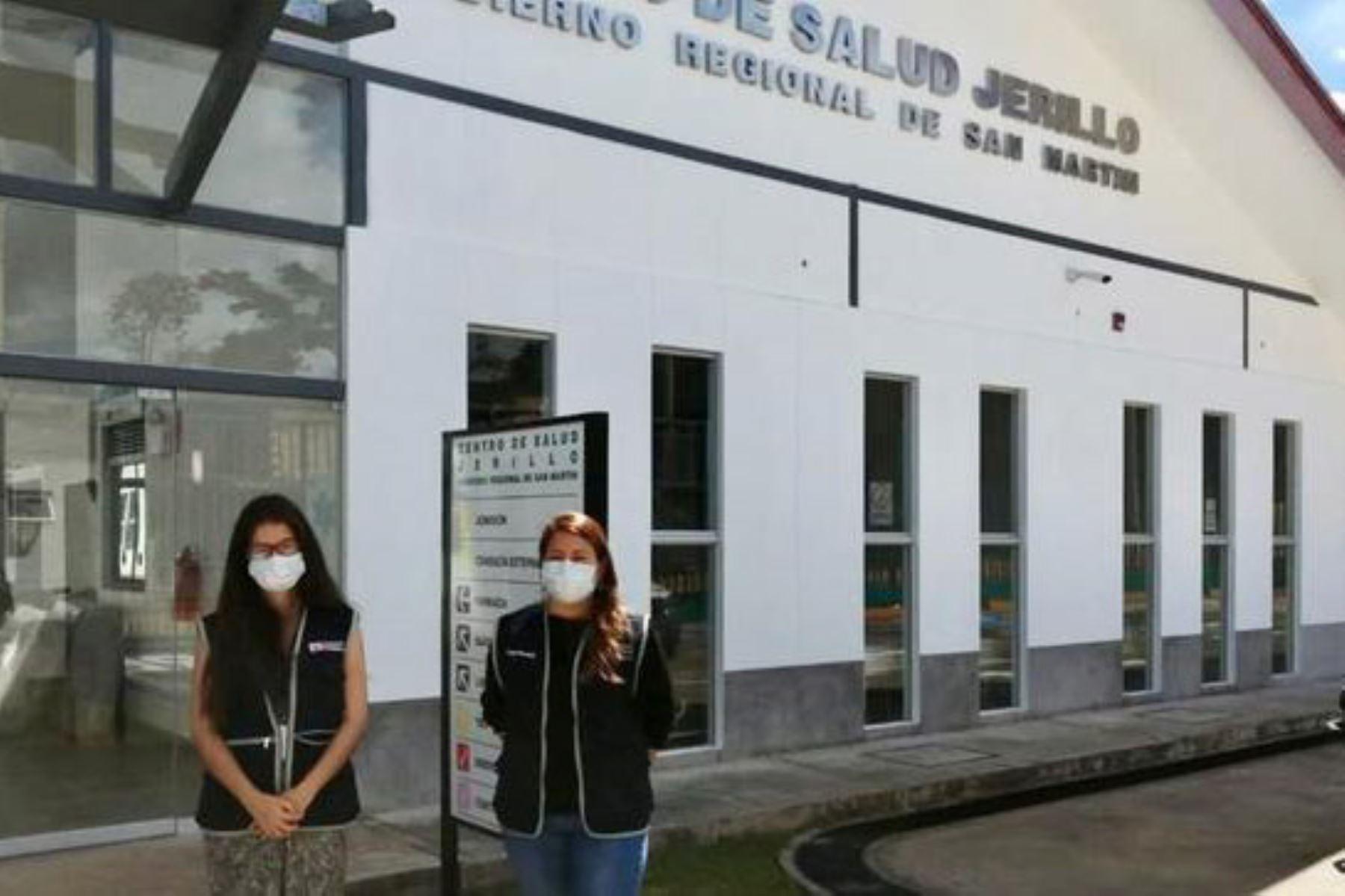 El Ministerio de Salud continúa fortaleciendo los servicios de salud en la región selvática de San Martín. Foto: Minsa