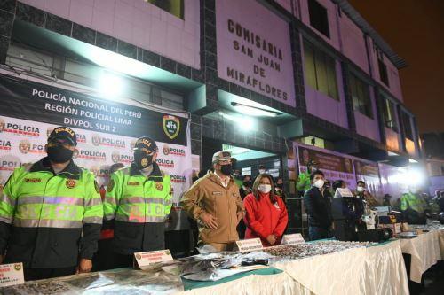 """Megaoperativo contra la delincuencia común y los infractores al Estado de Emergencia, en el marco del plan de seguridad """"Fortaleza 2020"""""""