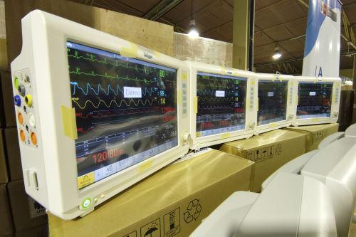 Coronavirus: Minsa recibe 301 monitores de funciones vitales para pacientes Covid-19