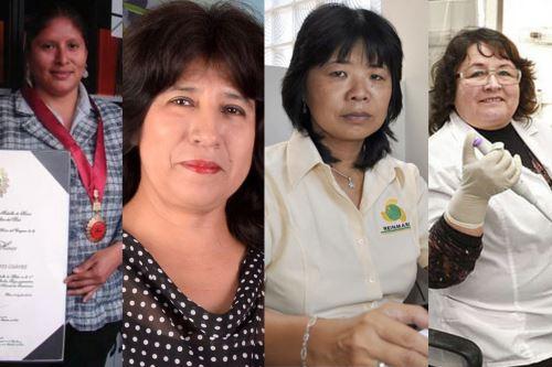 Cuatro científicas de San Marcos lideran lista de inventoras