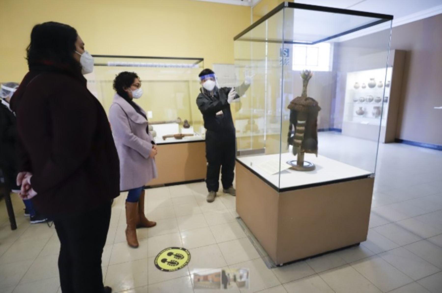 El Ministerio de Cultura aprobó el Protocolo Sanitario Sectorial ante el covid-19 para el inicio gradual e incremental de las actividades y gestión en los museos y otras instituciones museales, públicas y privadas, a escala nacional.
