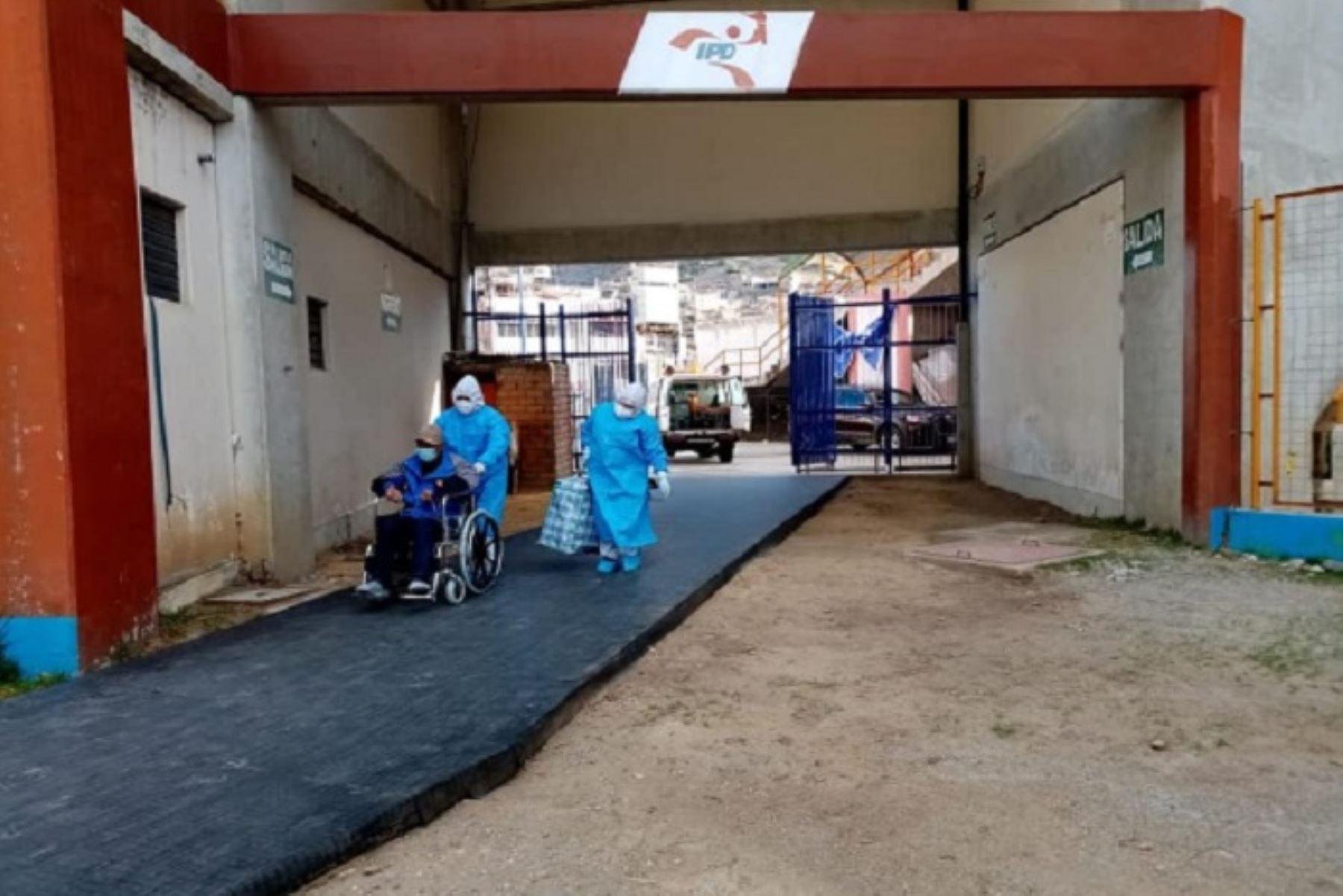 El nuevo centro de atención covid-19, cuenta con toda la implementación equipada para que los pacientes puedan ser atendidos de manera oportuna y eficaz.