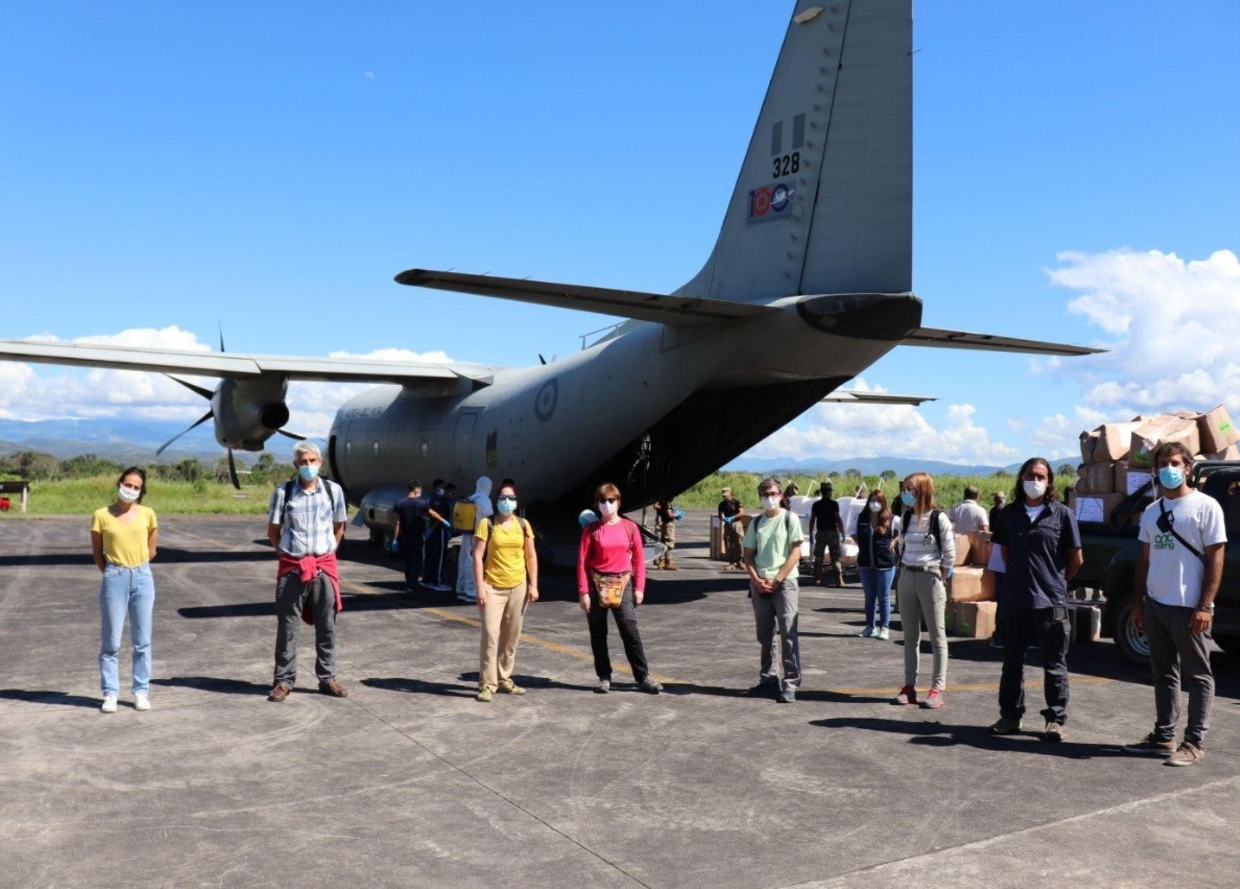 Brigada de Médicos sin Fronteras refuerza la atención contra el coronavirus en el Hospital de Tarapoto, región San Martín. ANDINA/Difusión