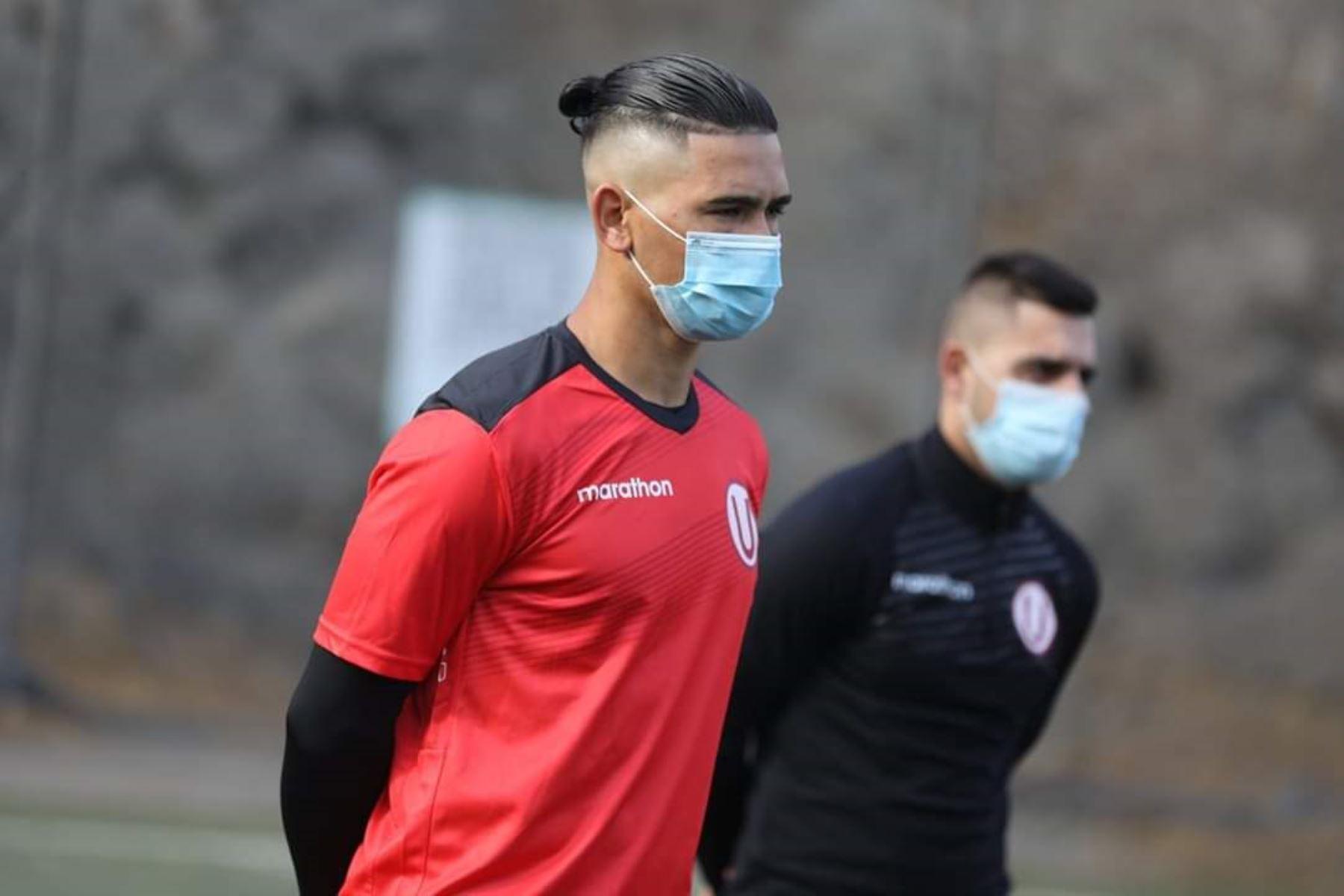 El club Universitario de Deportes inicia sus entrenamientos en el Club Árabe Palestino durante el estado de emergencia por coronavirus. Foto: ANDINA/Universitario de Deportes