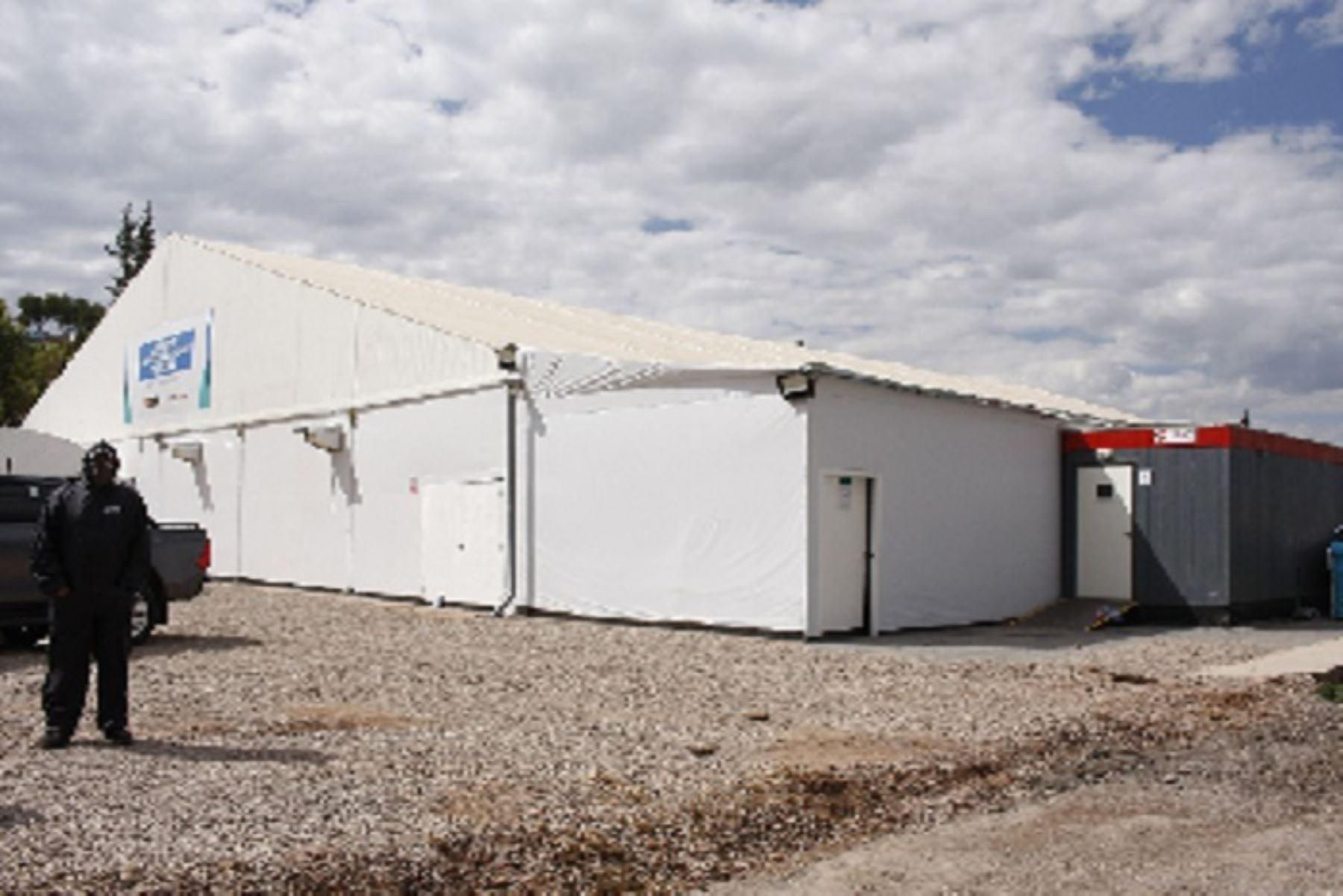 Covid-19:  Cusco tendrá cuatro hospitales modulares para pacientes intermedios