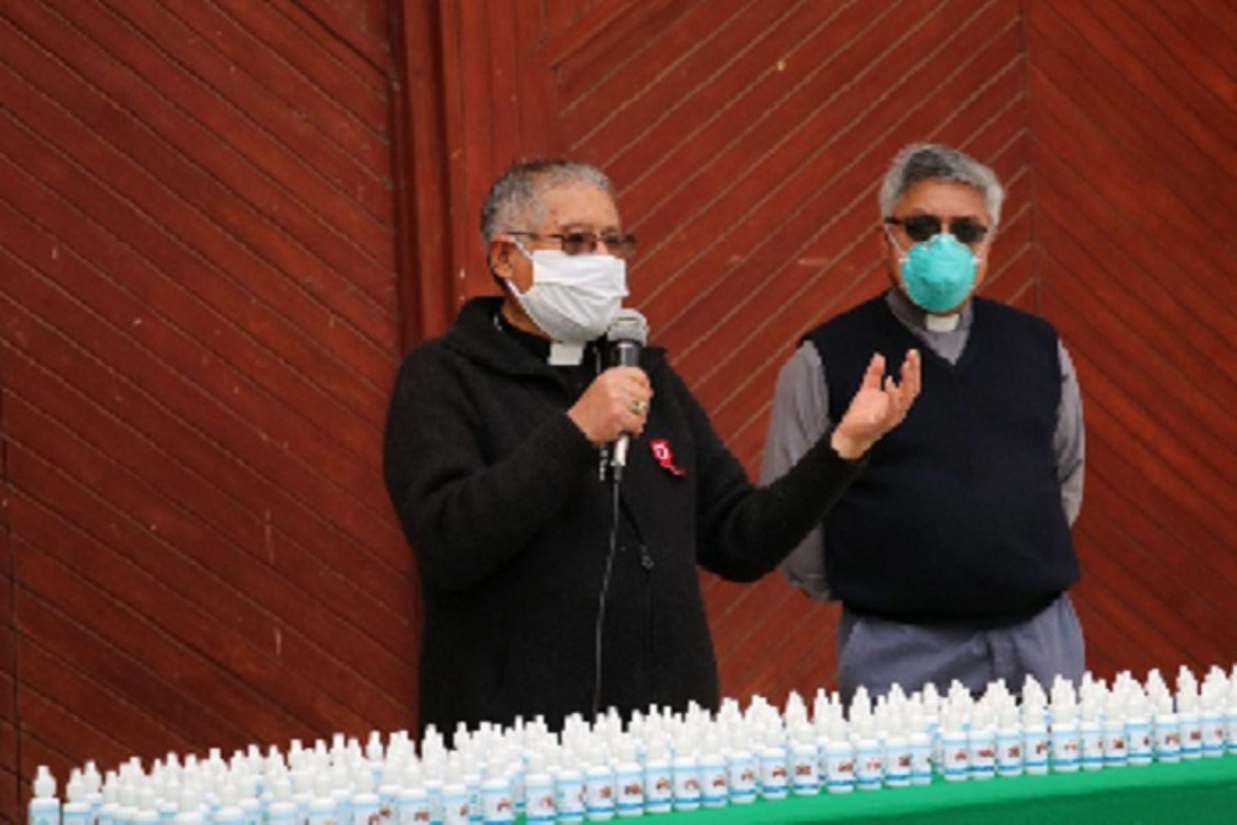 Coronavirus: Diócesis de Huaraz distribuye ivermectina para policías y población