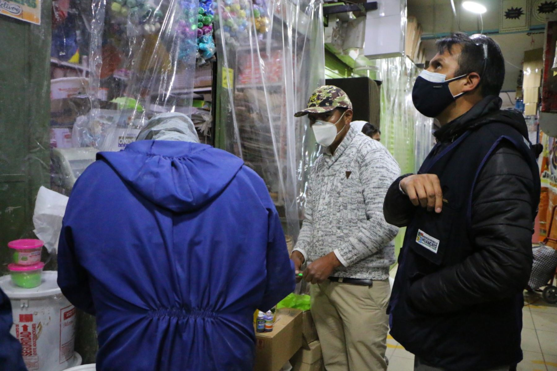 El mercado Modelo de Huancayo (Junín) permanecerá cerrado durante 15 días ante el riesgo de que sea un foco de contagio del covid-19. Foto: ANDINA/Difusión