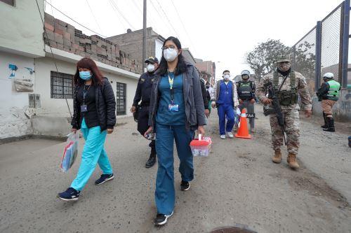 Coronavirus: La operación TAYTA llega una vez más a Villa María del Triunfo.