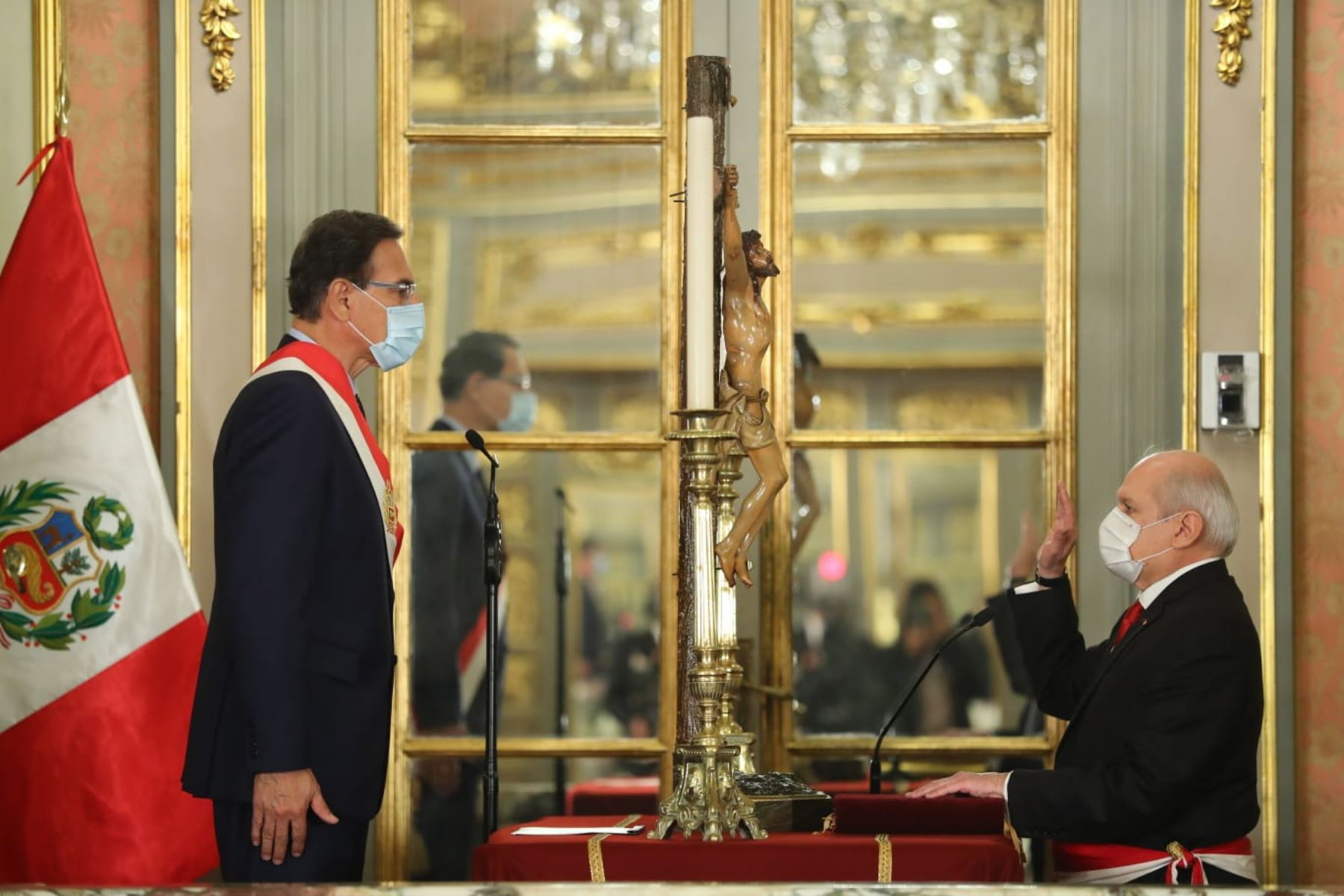 Pedro Cateriano jura como nuevo jefe del Gabinete Ministerial. ANDINA/Prensa Presidencia