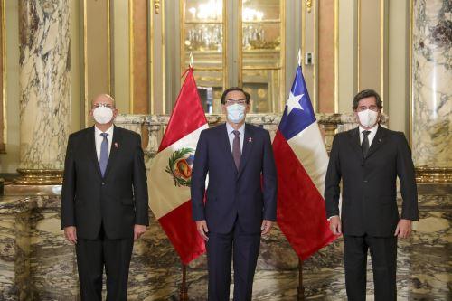 Entrega de cartas credenciales de Chile y Corea del Sur