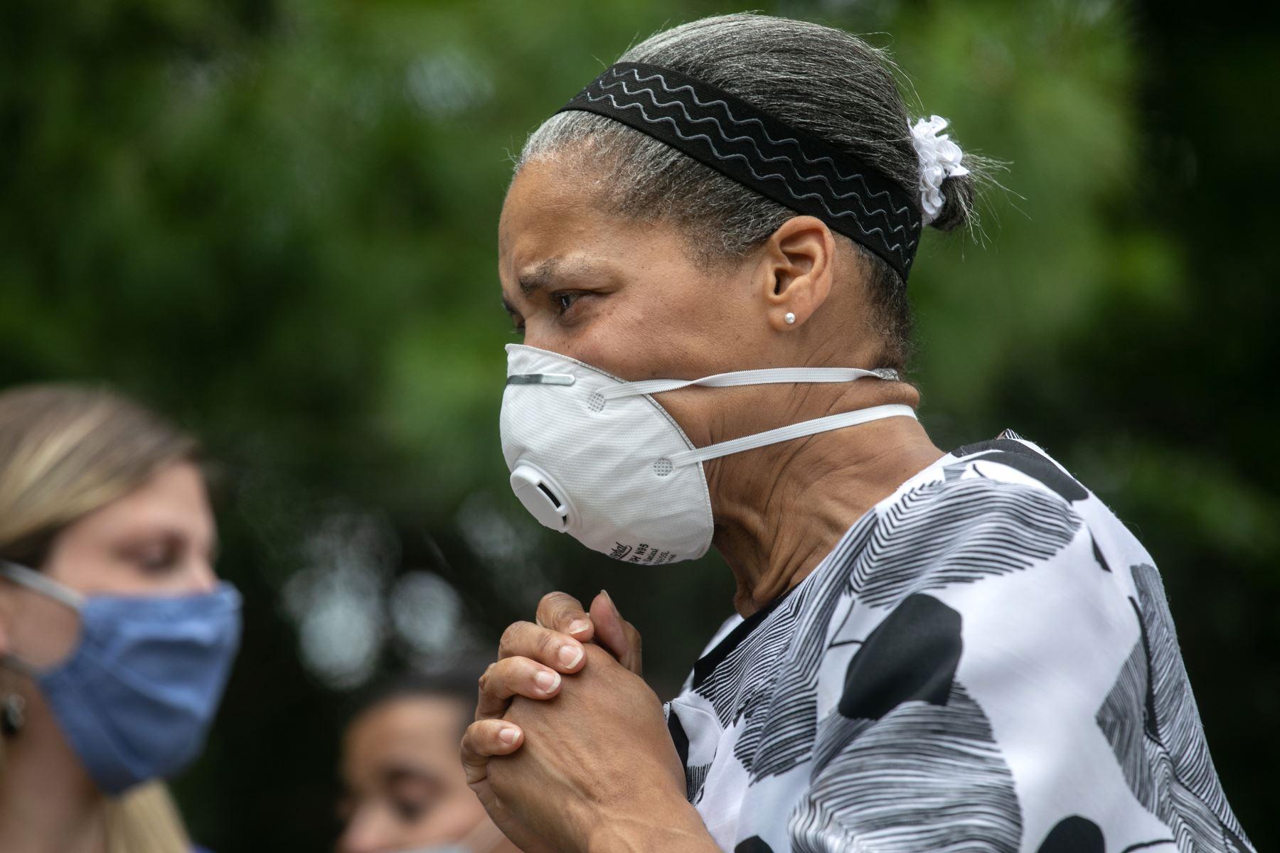 Estados Unidos sigue con un incremento vertiginoso de casos ahora con más de 70,000 tras haber superado por primera vez los 60,000 el pasado 7 de julio. Foto: AFP