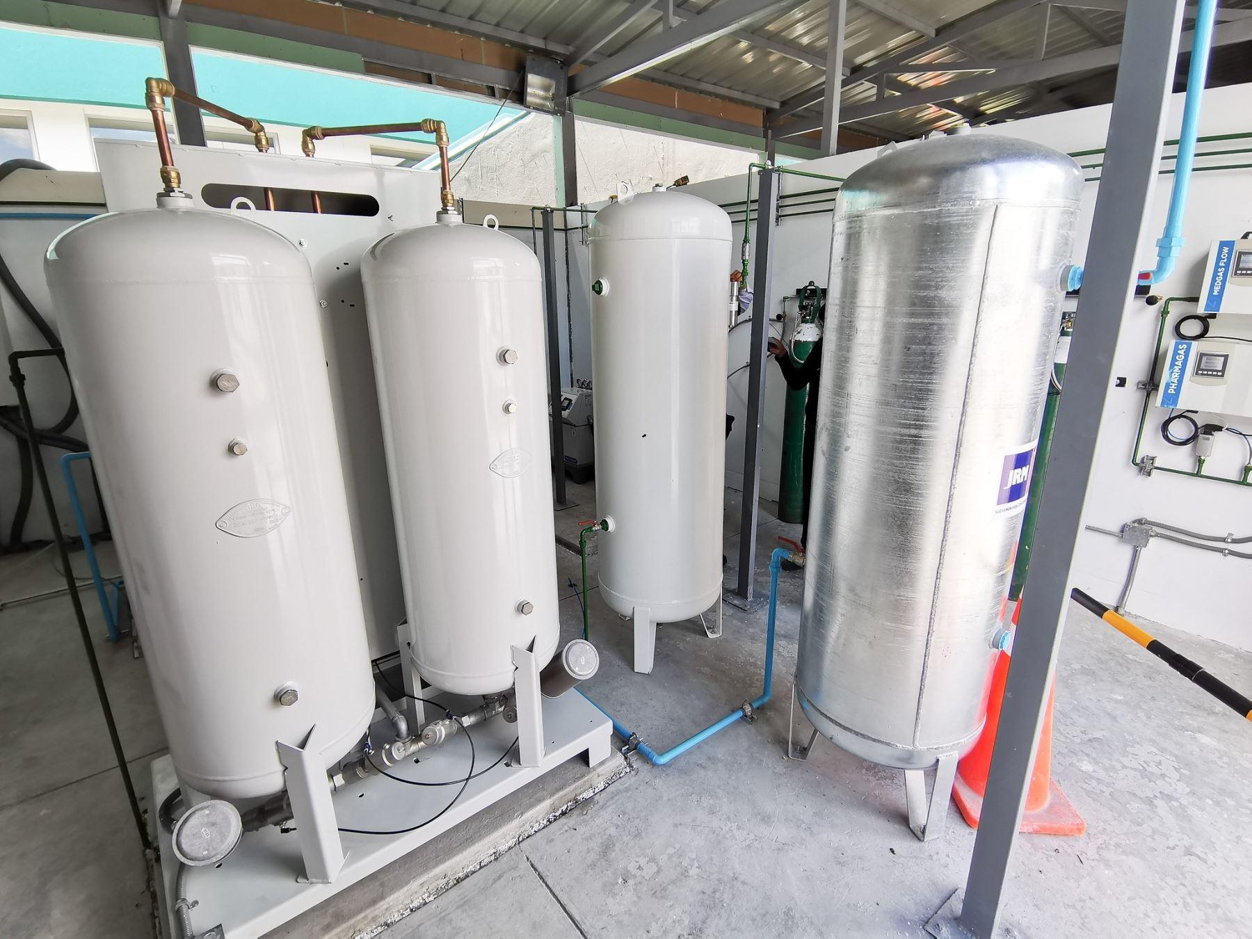 Empresarios de Ica se han unido y han iniciado una cruzada para comprar una planta de oxígeno para ayuda a los pacientes covid-19. ANDINA/Difusión