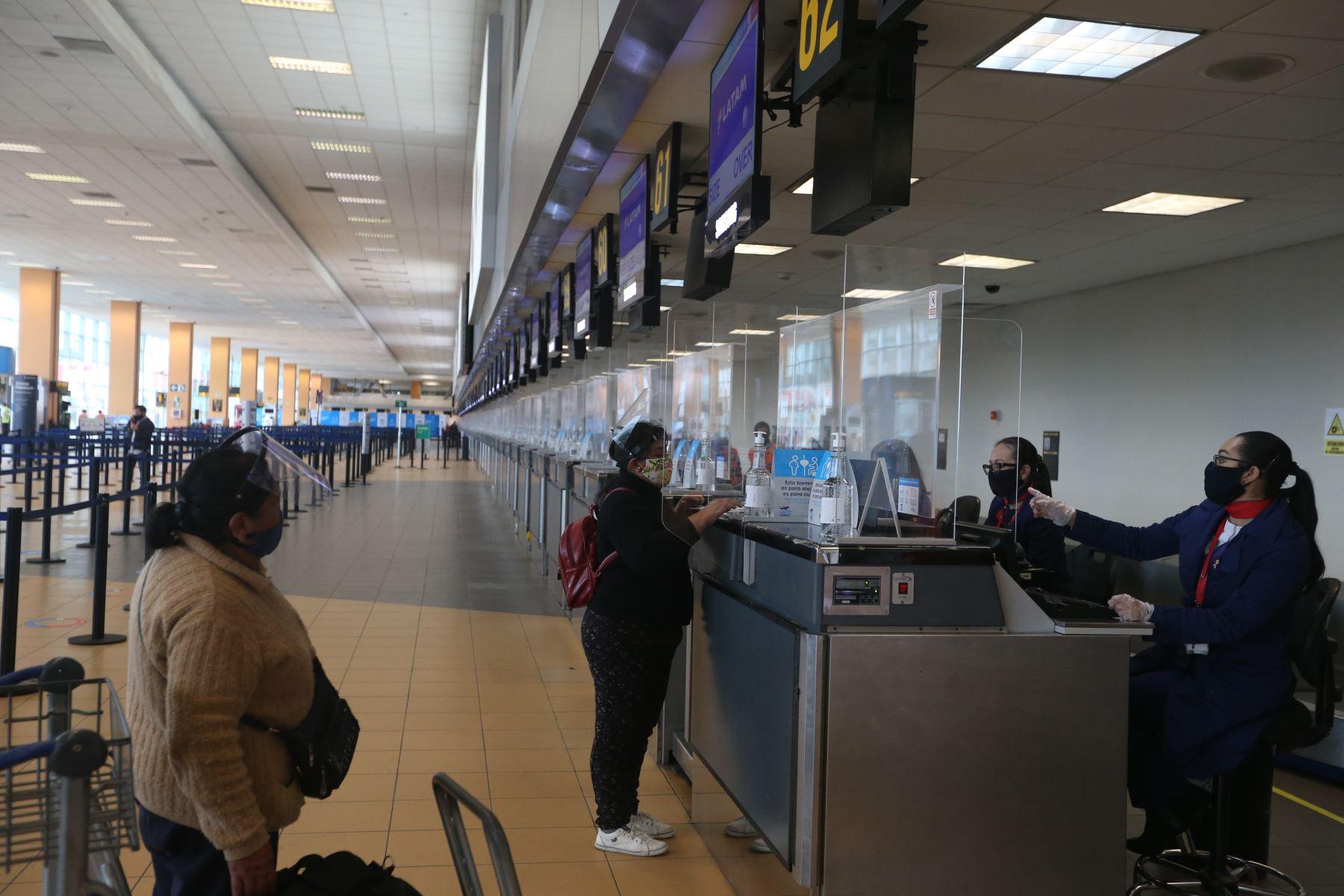 Reanudación de vuelos comprenderá arribos de Brasil, Chile, Colombia, Ecuador y México | Noticias