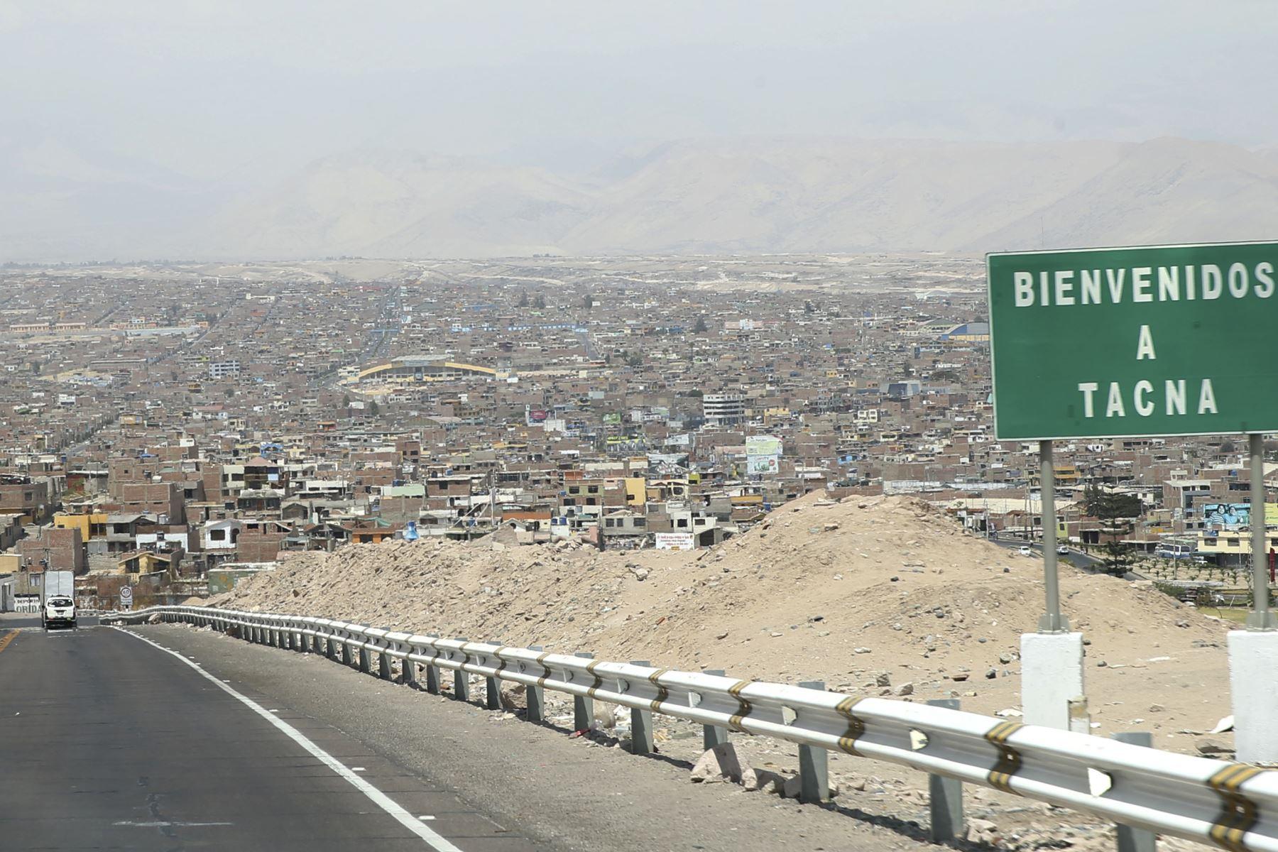 La ciudad de Tacna fue remecida esta mañana por un fuerte sismo de magnitud 5.6 cuyo epicentro se ubicó en Chile. ANDINA/archivo