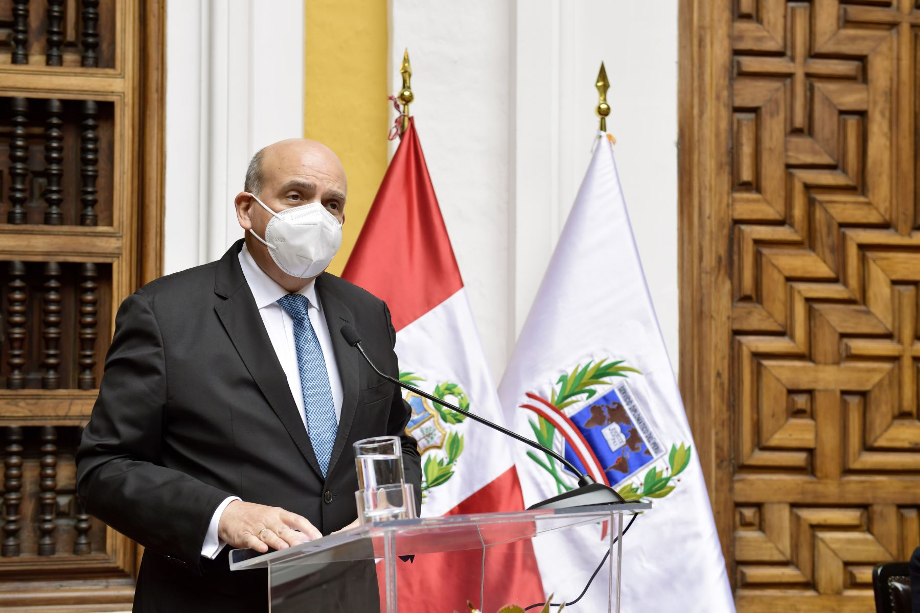 Foreign Affairs Minister Mario Lopez. Photo: Ministry of Foreign Affairs.