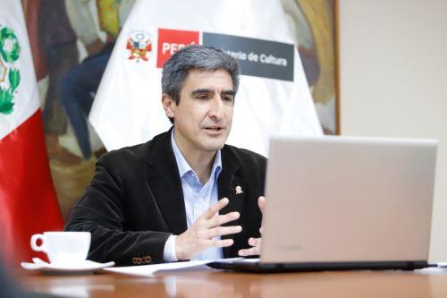 Ministro de Cultura Alejandro Neyra. ANDINA/Difusión