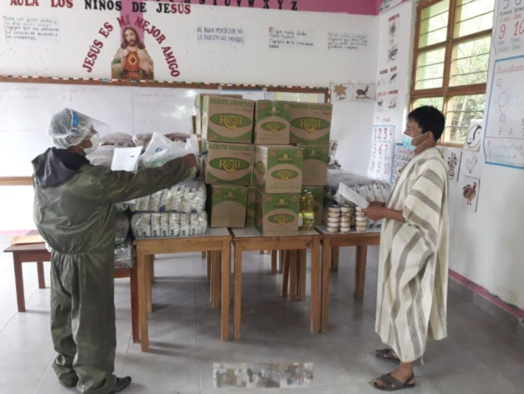 El Ministerio de Desarrollo e Inclusión Social (Midis), a través del Programa Nacional de Alimentación Escolar Qali Warma, inició la entrega de 189 toneladas de alimentos de calidad e inocuidad para atender a 13,589 pobladores en situación de vulnerabilidad pertenecientes a 64 comunidades nativas de varios distritos de la provincia cusqueña de La Convención.