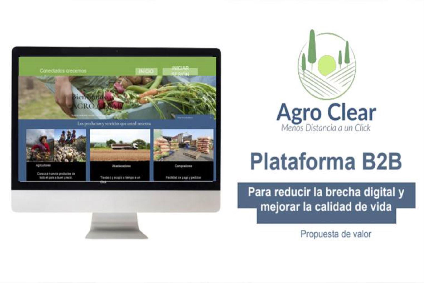 Proyecto sanmarquino conecta agricultores con compradores mayoristas