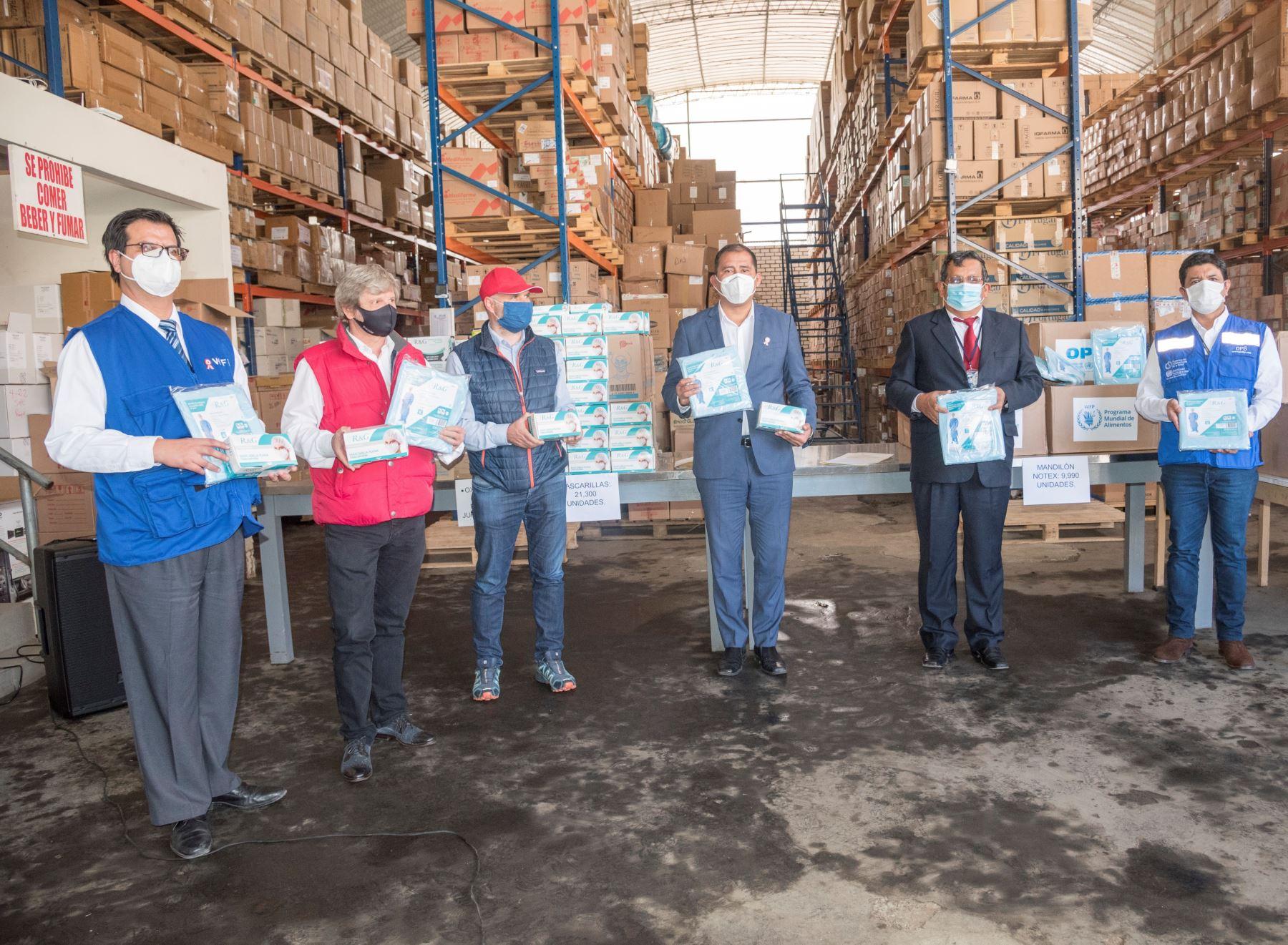 Programa Mundial de Alimentos ejecuta plan en Áncash para mejorar la respuesta en salud y seguridad alimentaria frente al covid-19 en dicha región.