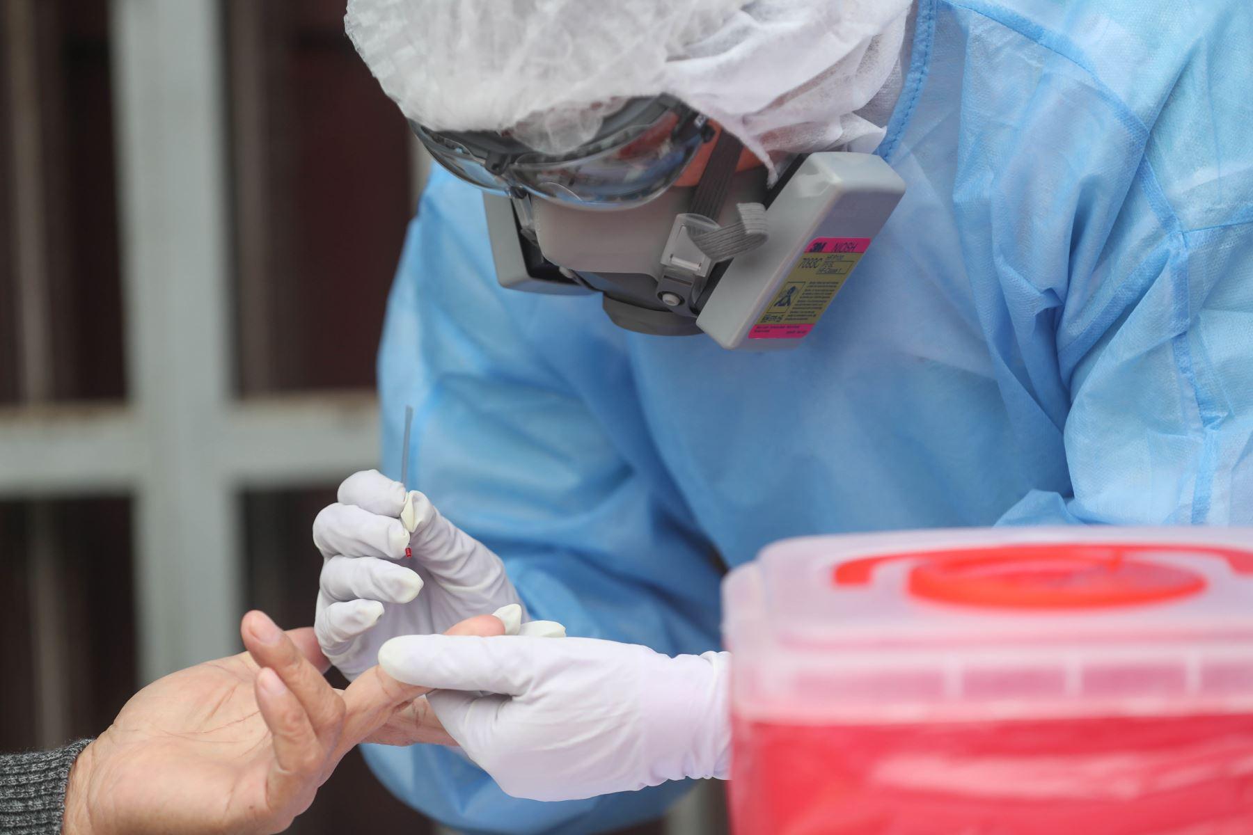 Comas tenía cerca de 330 casos y ahora registra más de 400 casos, lo que significa un incremento de casi 29%.  Foto: ANDINA/ MINDEF