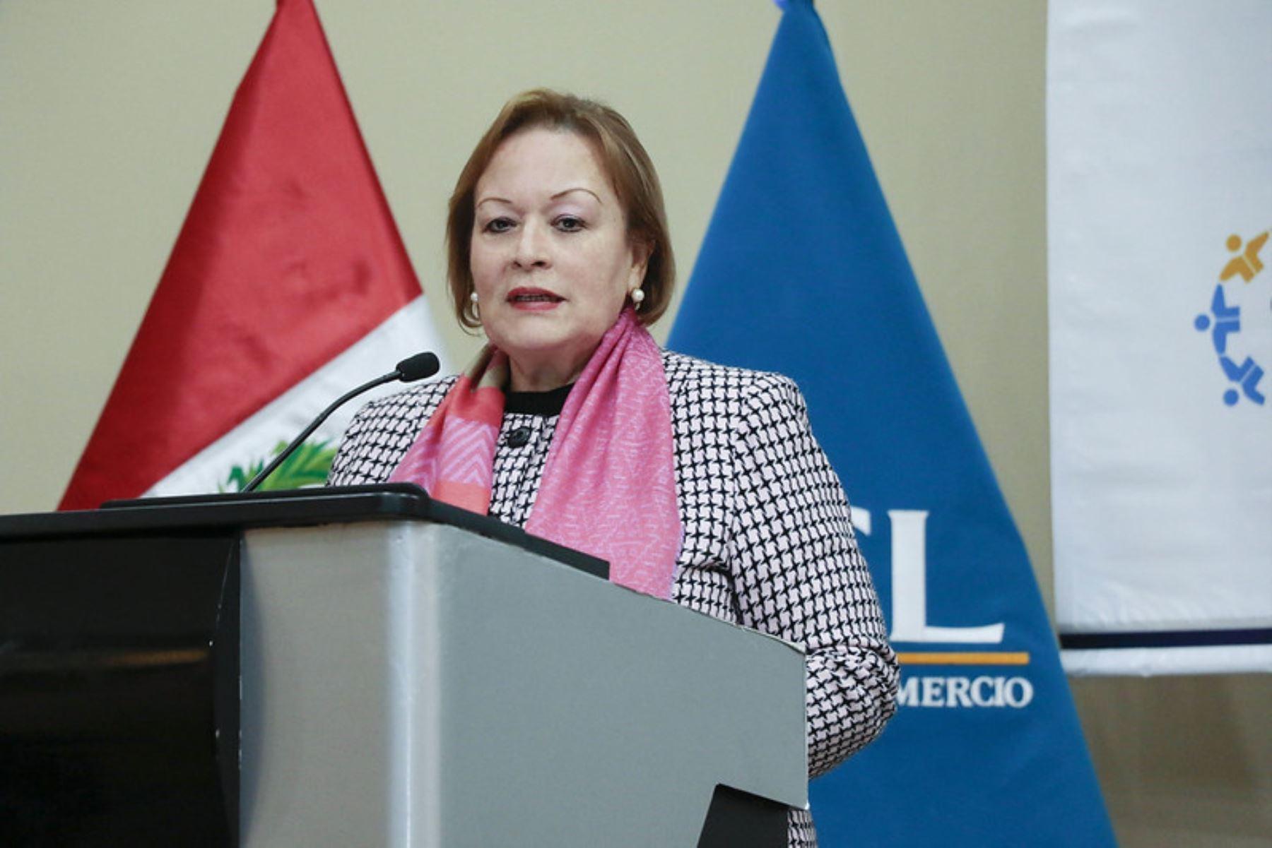Presidenta de la Cámara de Comercio de Lima (CCL), Yolanda Torriani