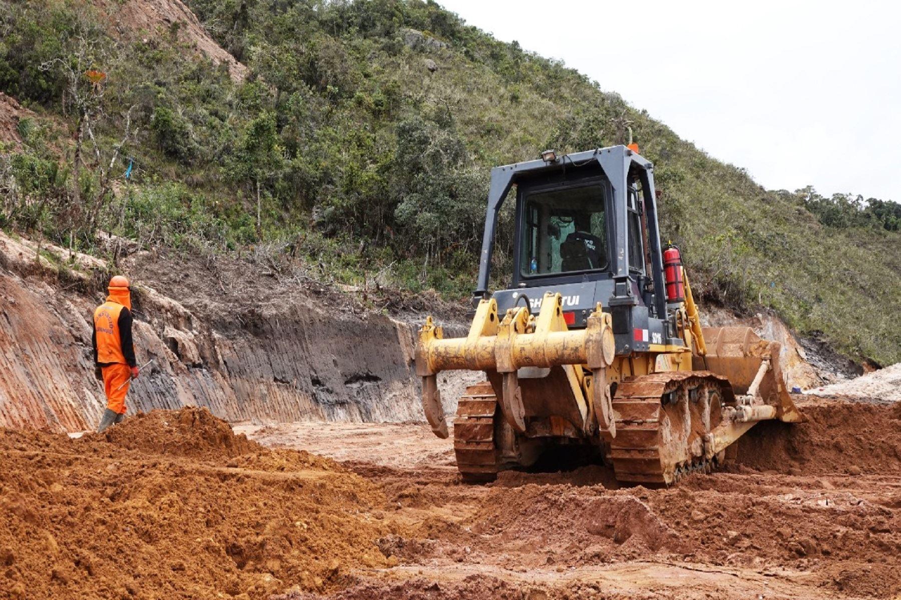 Obras de infraestructura vial. Foto: ANDINA/Difusión