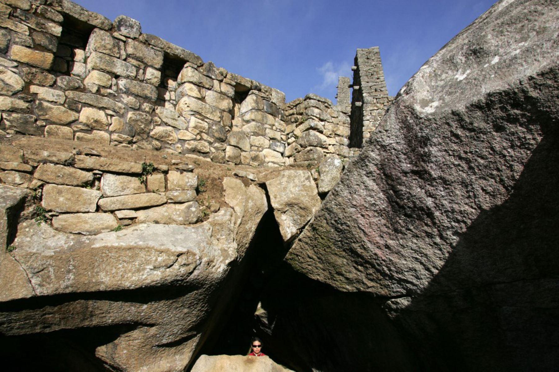 Ruinas de la Ciudadela Inca de Machu Picchu en Cuzco, Perú. Foto. AFP