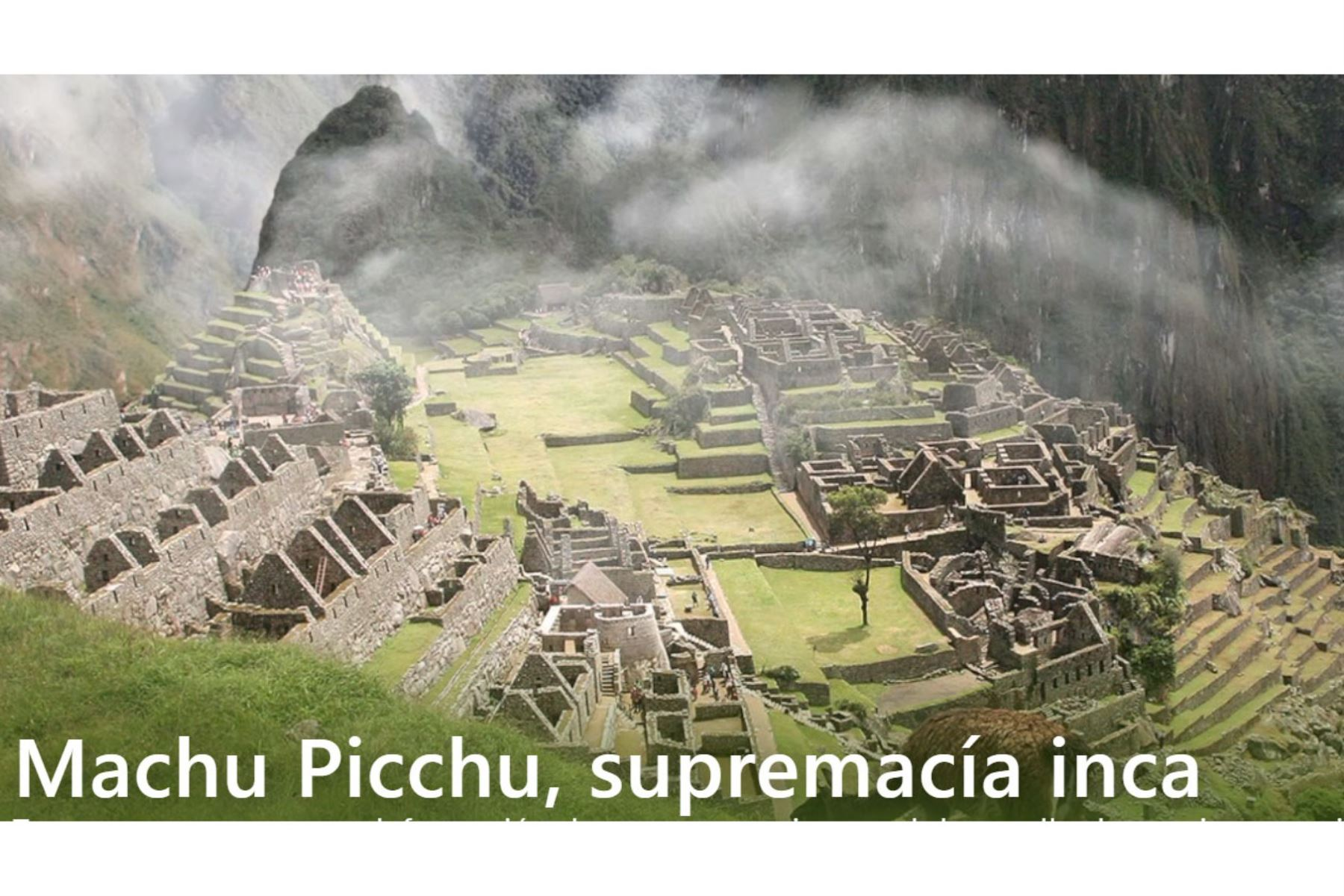 En el periodo del inca Pachacútec, durante la construcción de Machu Picchu, se registraron dos terremotos, que dieron origen a la arquitectura sismorresistente.